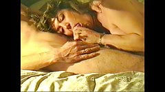 SEXY RETOR WIFE BLOWJOB, FACIAL AND SWALLOW