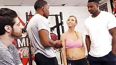 Astrid Star's First Interracial Threesome - Cuckold Sessions