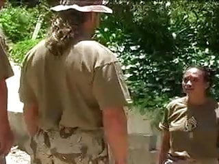 Nude army babes - In the fucking army