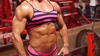 femdom lady muscular  very  hot escort slutty