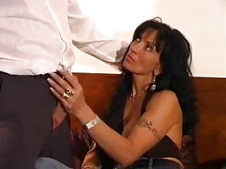 Italian mature woman with big breasts