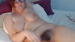 Hairy bigboobed mature naked