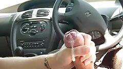 cum in car