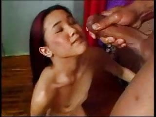Asian Star Kitty sucking and fucking well