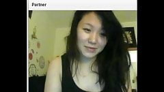 Cute asian girl show all on chatroulette