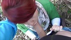 Kathy im Lutschwald