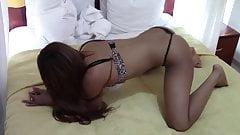 Asian Shaking Ass