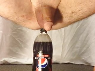 anal two-liter bottle