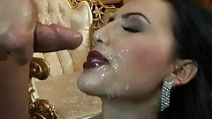 Mela Getting a Sperm Facial - 1