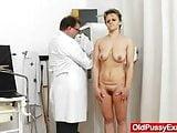 Slender wife with a bushy fuck hole