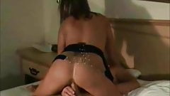 Hot amateur wife cuckold at home