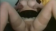 Chubby Ex Girlfriend Pussy play and riding cock