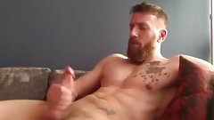 ginger beard jerk off