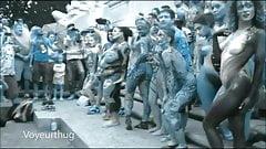 Tribal Paint Public Nudity