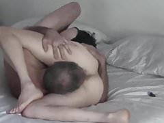 Older couple mating