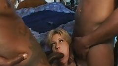 MILF Chloe Gets Her BBC Craving by 2 BBC