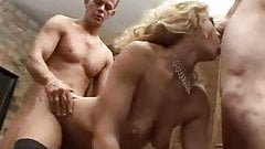 GANGBANG CELEBRATION FOR A FINE LADY 5