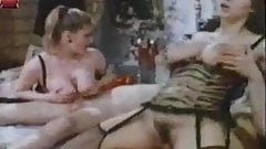 busty vintage 4some (no sound)