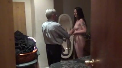 Wife Julie and Old Guy, Free CFNM Old Porn 8a: