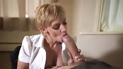 Hot Bodied British Milf Works A Cock