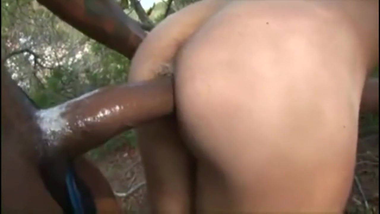 Cum filled white buts