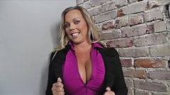 Interview with Busty Milf Amber Lynn Bach