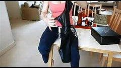 Striptease and masturbation (JOI)