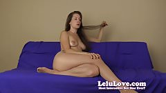 Pantyhose wearing femdom tells you what to do with ruined or