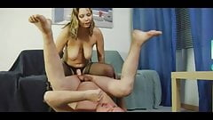 Russian mistress with strapon