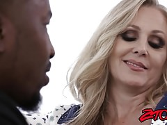 Busty milf julia ann gets fucked hard by big black cock Thumbnail