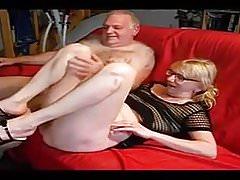 Amateur - Bisex Mature Blond Couple - Three Scenes