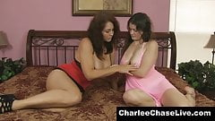 Two Lovely Babe Having Nice Show