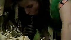 Selena Steele, Tom Chapman in insane vintage sex with model