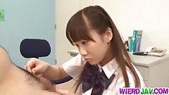 Schoolgirl Yuri Shinomiya