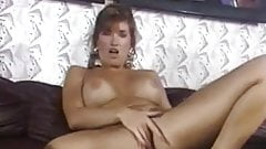 Horny brunette - naughty solo show