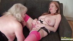 OldNannY Lily May and Claire Knight Lesbian Toys