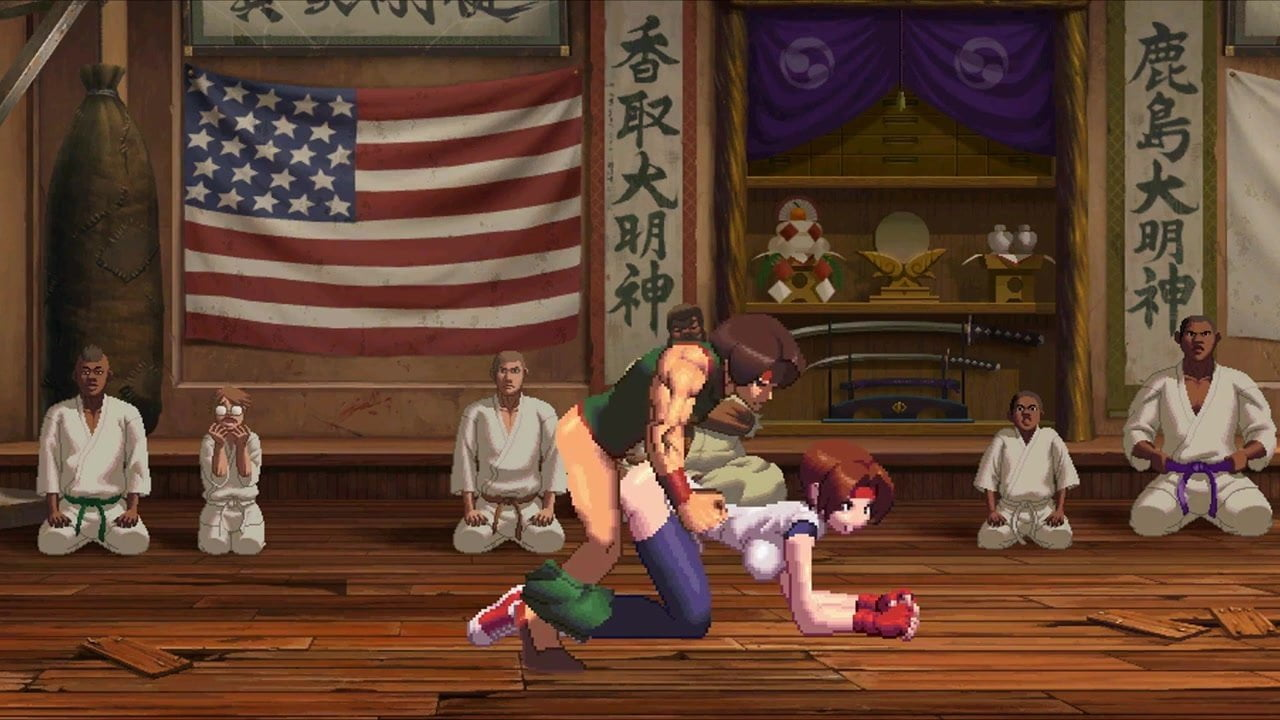 Yuri porn king of fighters