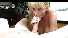 Hot Mature Blonde Cougar POV BJ