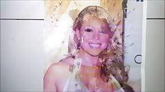 Mariah Carey cumshot tribute (15 spurts)