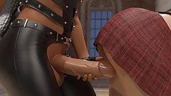 3d animation lesbians having futa sex in a musemum in hd