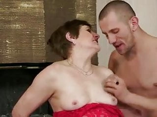 Mom With Flabby Body Saggy Tits Hairy Cunt Guy
