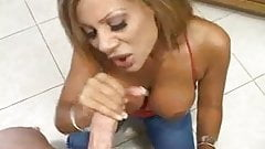 Mature Blowjob with Big Tits!