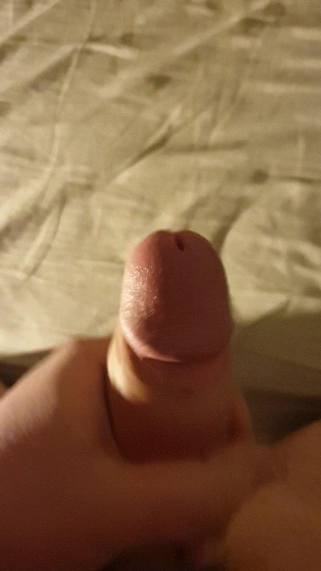 Cumming on my mattress sheets