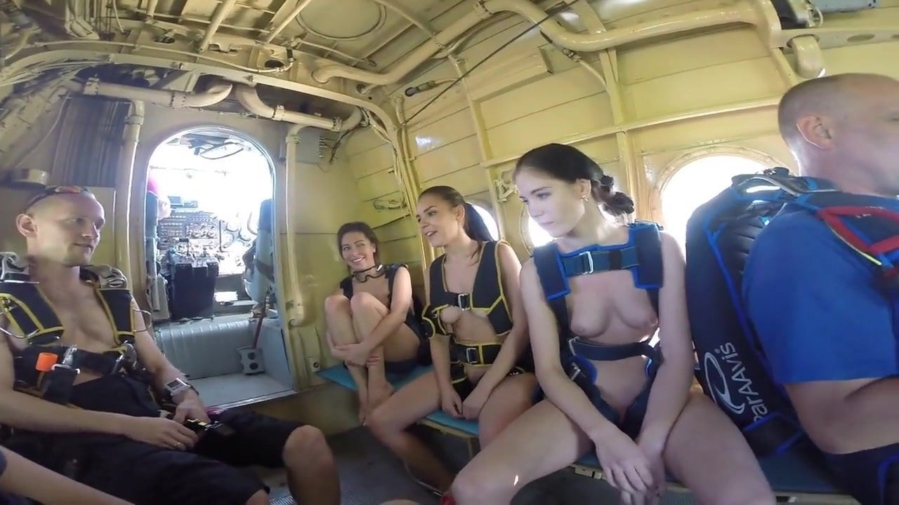 Funny Russian Skydiving With Naked Girls, Porn 71 Xhamster-8306