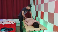 Gay Oil Massage Anal Fuck