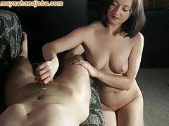 Maya nude handjob
