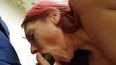 Pink haired cocksucker