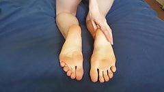 Sweet sweet soles - of pointed feet -.