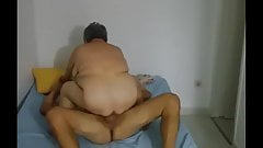 HIDDEN CAM OLD GRANNY 63 YEARS OLD #3 the last fuck