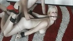 Blonde whore given hardcore pounding